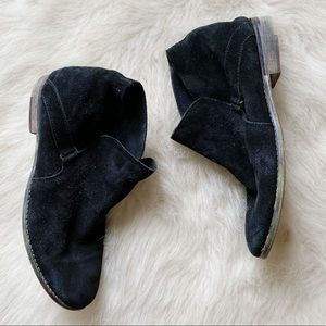 Free People suede black boots 37 7